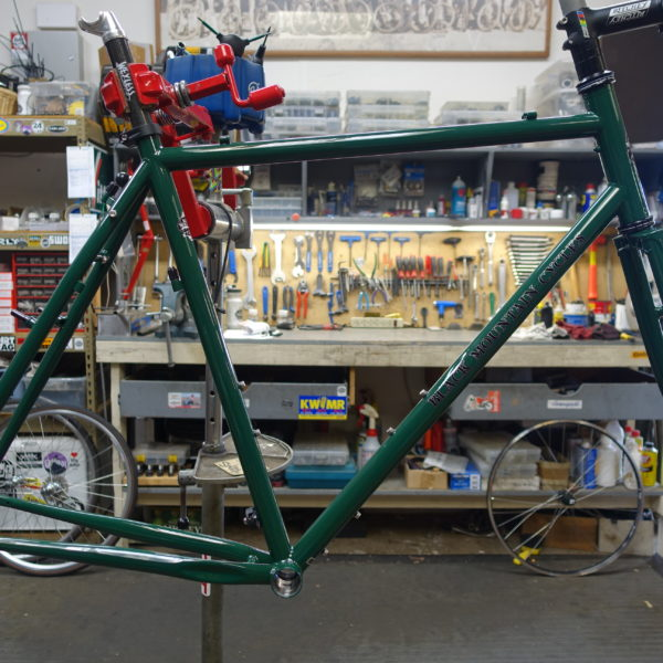 Black Mountain Cycles Monster Cross V5 British Racing Green