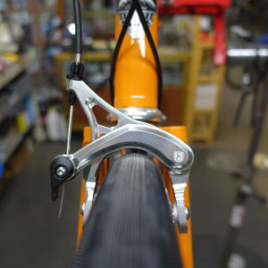 Compass Bon Jon Pass 700 x 35 | Velo Orange Grand Cru Brake | Sufficient clearance.